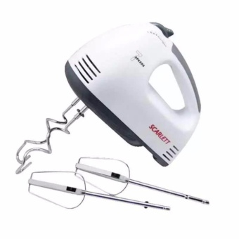 Scarlett Professional Electric Whisks Hand Mixer (White)