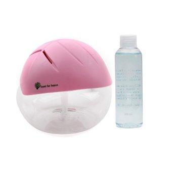 Scent for Senses Air Revitalisor Pink with Scent for Senses Aroma Oil 100ml Eucalyptus