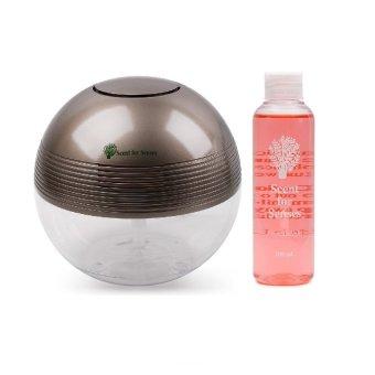 Scent for Senses J-283 Air Revitalisor Grey with Scent for Senses Aroma Oil 100ml Fruit Delight