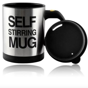 Self Stirring Mug (Black)