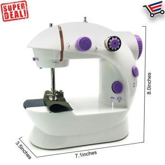 Sewing Machine Mini 2-Speed Double Thread, Double Speed, PortableSewing Machine Price Philippines