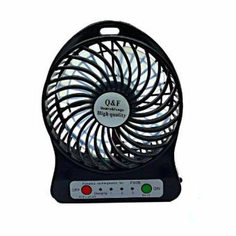 SG-F-95B Chargeable Mini USB Fan (Black)