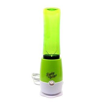 Shake N Take 3 Tumbler and Blender 16oz (Green) - 3