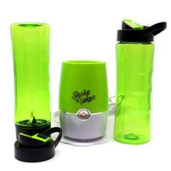Shake N Take 3 Tumbler and Blender 16oz (Green)