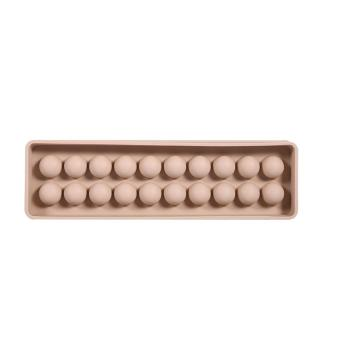 Silicone Mini Ice Ball Cube DIY Mould Candy Chocolate Bar Mold(Coffee Red) - intl Price Philippines