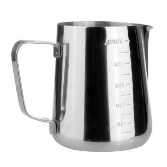 Stainless Steel Espresso Coffee Pitcher In Kitchen Home Craft Coffee Jug Latte Milk Frothing Coffee Tea Tools (Intl)