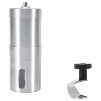 Stainless Steel Manual Coffee Bean Espresso Spice Grinder Kitchen Tool S - intl