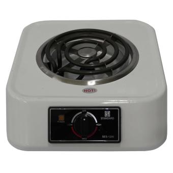 Standard Single Coil Electric Stove White (Black)