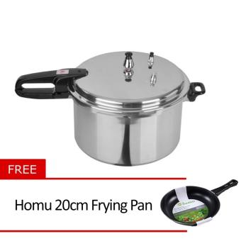 Standard SPC-6QC Pressure Cooker with Free Homu 20cm Frying Pan