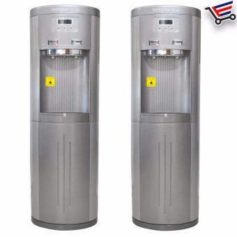 Standing Hot and Cold Bottomless Water Dispenser Set of 2