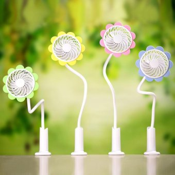 Sunflower Portable & Rechargeable Mini USB Fan Home Appliance -intl Price Philippines