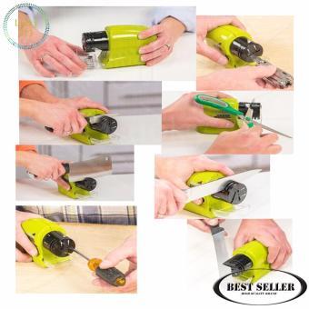 Swifty Sharp Kitchen Motorized Knife Sharpener (Green) - 3