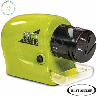 Swifty Sharp Kitchen Motorized Knife Sharpener (Green) - 2