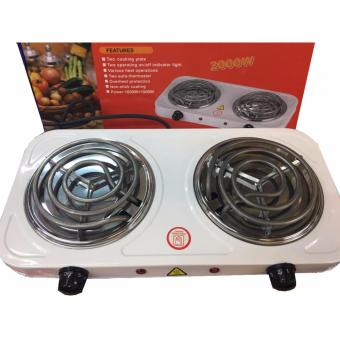 The House Hot Plate 2000W Double Burner Hot Plate Electric Cooking