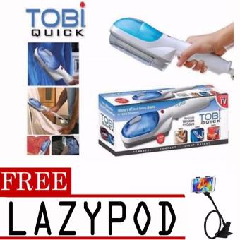 Tobi Travel Steamer Portable Cloth Steamer with free Lazypod (colormay vary)