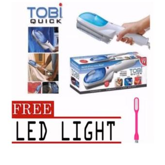 Tobi Travel Steamer Portable Cloth Steamer with free LED Light(color may vary) Price Philippines