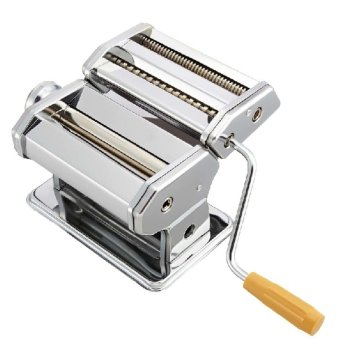Twinklenorth PM-004 Manual Pasta Noodle Maker Seperated DoubleCutter (Silver) - intl
