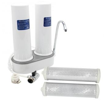 Two Stage Household Water Purifier Double Filters