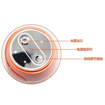 Ultrasonic Air Purifier Car Usb Mini Humidifier Red (Color:As FirstPicture) - intl - 4