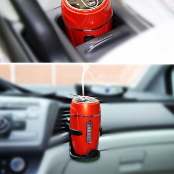Ultrasonic Air Purifier Car Usb Mini Humidifier Red (Color:As FirstPicture) - intl