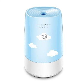 USB Anion Air Humidifier Aromatherapy Aroma Diffuser 180mlEssential Oil for Office Car Home Use - intl Price Philippines