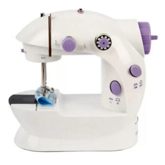 verygood- Microbishi MSM-202A There is light 2-Speed Mini ElectricSewing Machine Kit (White/Lavender)