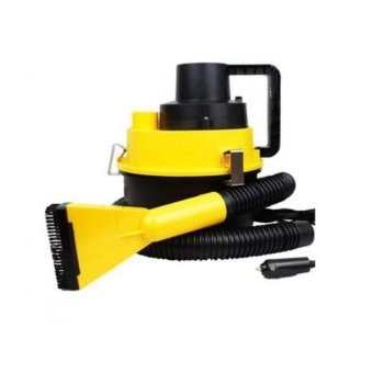 Wet and Dry Vacuum Cleaner-Red/Yellow