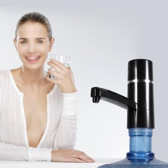 Wireless Electrical Bottle Drinking Water Pump Dispenser (Black) - intl
