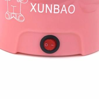 XUNBAO Stainless Steel Electric Cooker Boiler (Pink) - 5