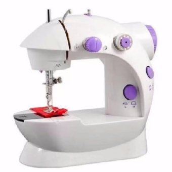 XZY Double Thread Sewing Machine with Foot Pedal andAdapter(White-Lavender) Price Philippines