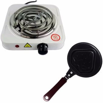 XZY Hot Plate Electric Cooking Stove Single (White) With MiniNon-Stick Pancake and Egg Frying Pan 12cm (Strawberry) Price Philippines