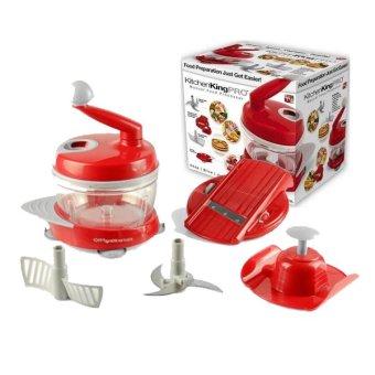 Y325-1 Manual Food Processor (Red)