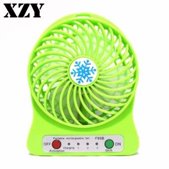 ZDL-F68 Portable Mini USB Rechargeable Fan (Green) Price Philippines
