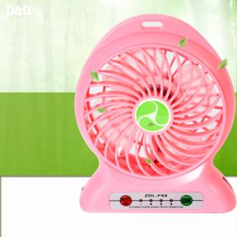 ZDL-F68 Portable Mini USB Rechargeable Fan (Pink) Price Philippines