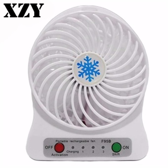 ZDL-F68 Portable Mini USB Rechargeable Fan (White) Price Philippines