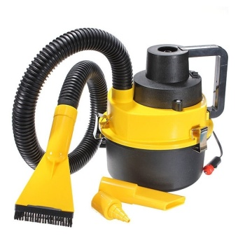 Zover DC12V Monlove Wet Dry Vac Vacuum Cleaner Portable InflatorTurbo Hand Held for Car and Household