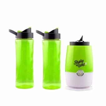 Zover Shake N Take 3 Mini Sports Bottle Electric Blender With ExtraBottle