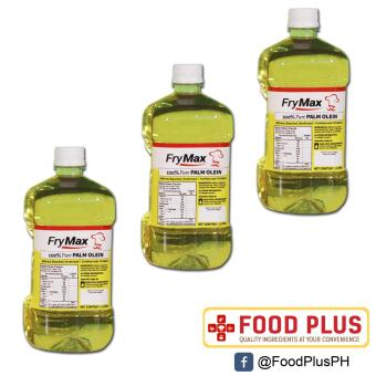 3 Bottles Frymax Palm Cooking Oil 1L