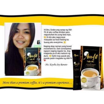 6 boxes Am-fit Coffee Mix African Mango by MarbevPH Price Philippines