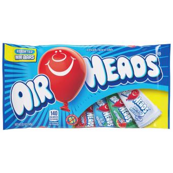 Airheads Chewier Mini Bars Variety Pack 12 Ounce