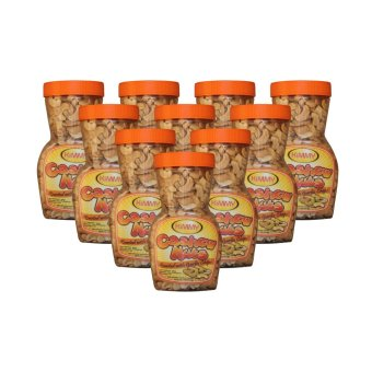 Baguio Cashew Nuts (Clear Brown) Bottle of 10