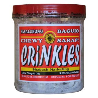 Baguio Chocolate Crinkles (Clear White/Black)