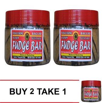 Baguio Fudge Bar (Clear brown) Buy 2 Take 1