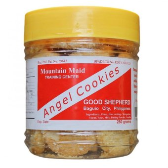 Baguio Good Shepherd Angel Cookies (White/yellow) Jar