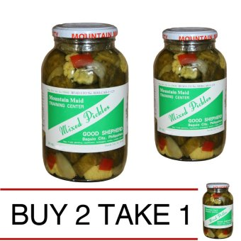 Baguio Good Shepherd Mixed Pickles Buy 2 Take 1