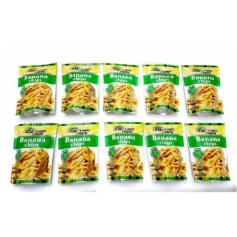 Bahaghari Banana Chips 100 grams Set of 10