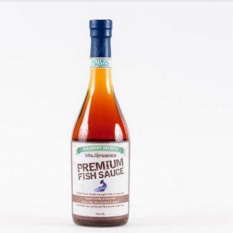 Bibliorganics Premium Fish Sauce 700ml