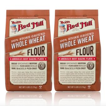 Bob's Red Mill - 100% Stone Ground Whole Wheat Flour, 1.36kg Set of 2