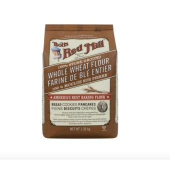 Bob's Red Mill - 100% Stone Ground Whole Wheat Flour, 1.36kg