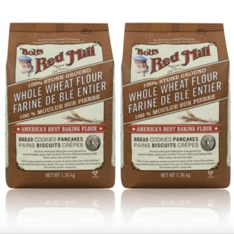 Bob's Red Mill - 100% Stone Ground Whole Wheat Flour, 1.36kg Set 2